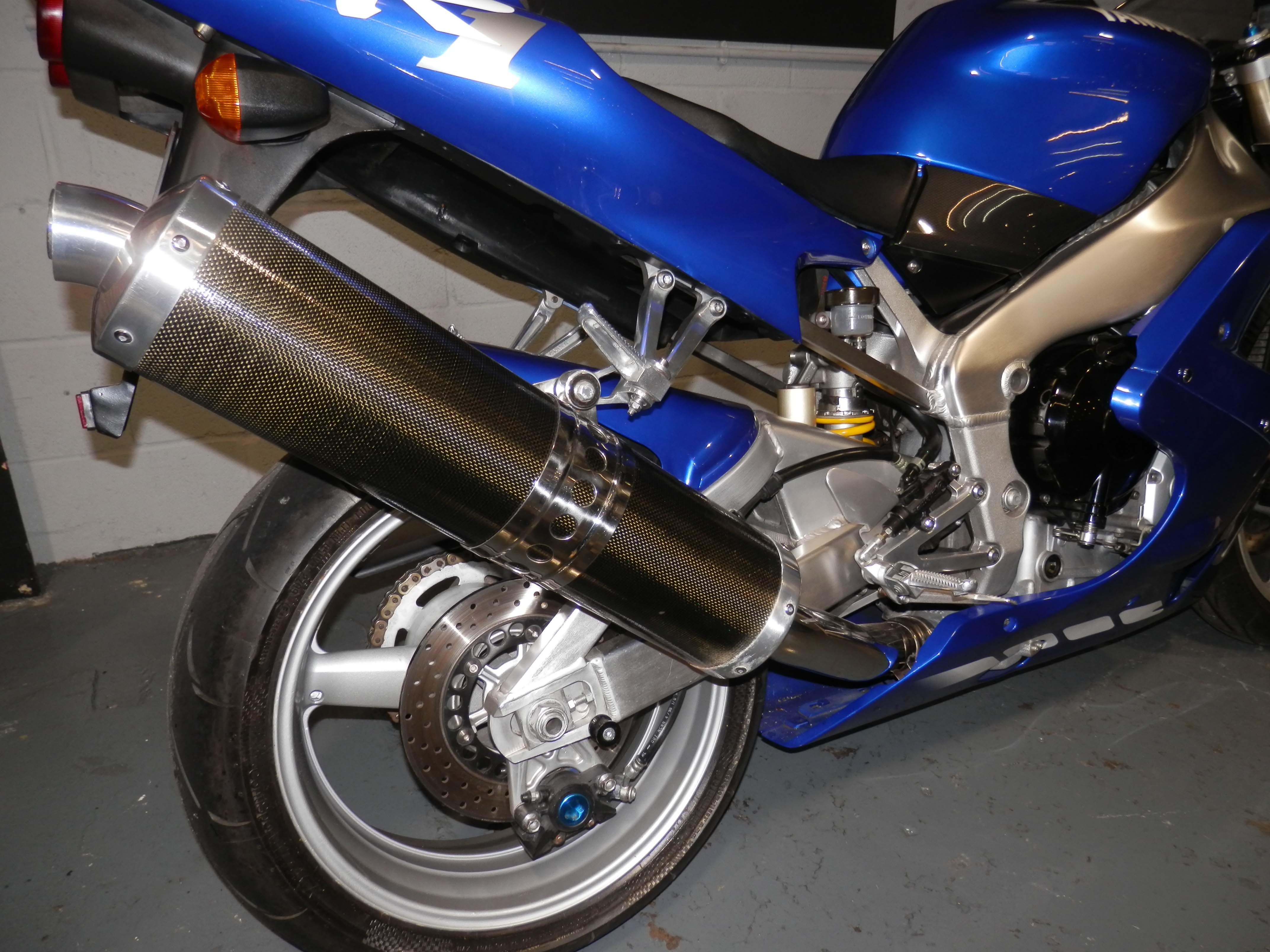 Diagrama Yamaha Yzfr1