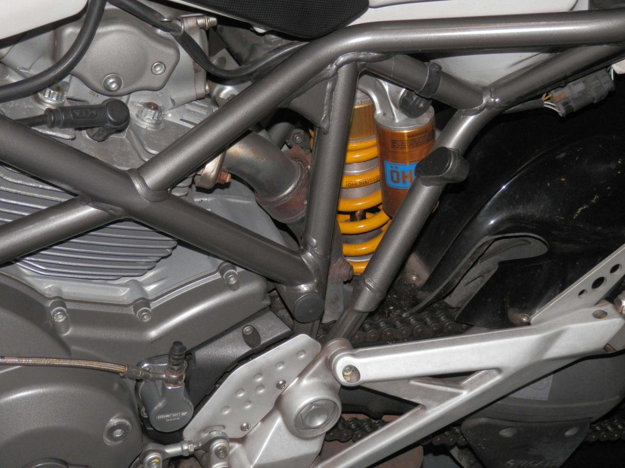 """Ducati Multistrada 1100 """"S"""" Pearl White 2009 09'"""